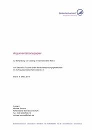 Argumentationspapier Leasing und OpRisk 15-03-06 BFACH