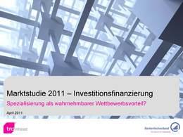 Marktstudie_2011_Investitionsfinanzierung_bfach_kompakt