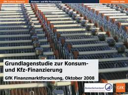 GfK-Studie_Konsum Kfz Finanzierung_2008